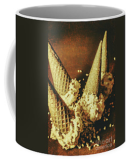 Vintage Ice Cream Cones Still Life Coffee Mug