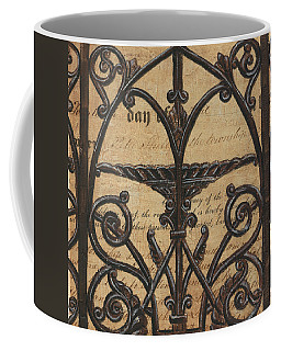 Vintage Iron Scroll Gate 1 Coffee Mug