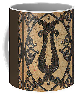 Vintage Iron Scroll Gate 2 Coffee Mug