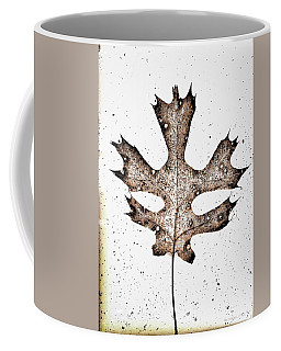 Vintage Leaf Coffee Mug