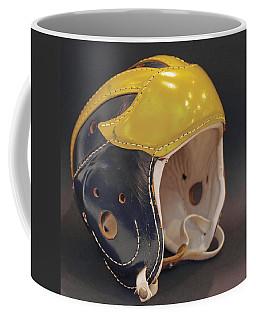 Vintage Leather Wolverine Helmet Coffee Mug