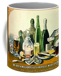 Vintage Liquor Ad 1871 Coffee Mug