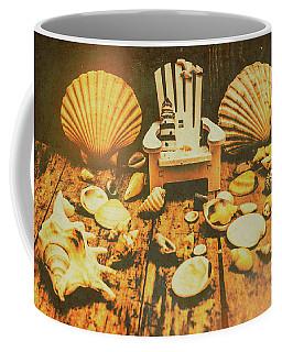 Vintage Marine Scene Coffee Mug