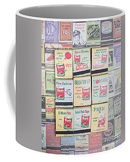 Coffee Mug featuring the photograph Vintage Matchbooks by Edward Fielding