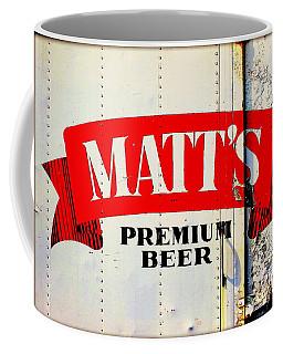 Vintage Matt's Premium Beer Sign Coffee Mug