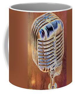 Vintage Microphone Coffee Mug