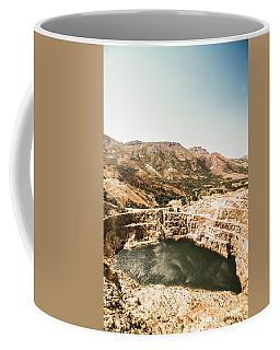 Vintage Mining Pit Coffee Mug