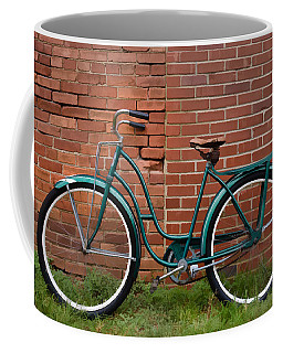 Vintage Montgomery Ward Bicycle 2 Coffee Mug by Greg Jackson