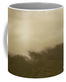Vintage Mountains Covered By Cloud Coffee Mug