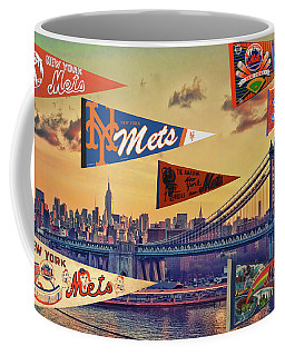 Vintage New York Mets Coffee Mug