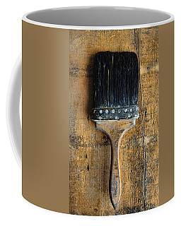 Vintage Paint Brush Coffee Mug by Jill Battaglia
