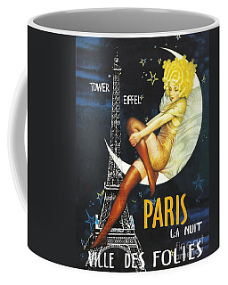 Vintage Paris Moon Coffee Mug