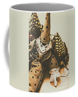 Vintage Party Puppet Coffee Mug