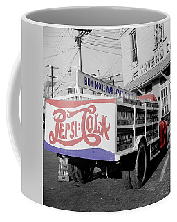Vintage Pepsi Truck Coffee Mug by Andrew Fare