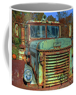 Coffee Mug featuring the photograph Vintage Peterbilt Truck by Jerry Gammon