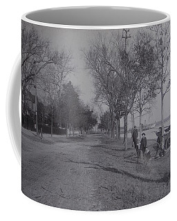 Vintage Photograph 1902 Front Street New Bern Nc Coffee Mug by Virginia Coyle