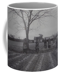 Coffee Mug featuring the photograph Vintage Photograph 1902 New Bern North Carolina Sharecroppers by Unknown