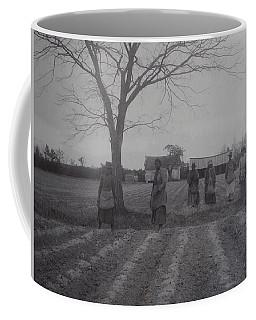 Vintage Photograph 1902 New Bern North Carolina Sharecroppers Coffee Mug