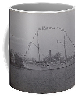 Coffee Mug featuring the photograph Vintage Photograph Usrc Boutwell New Bern Nc by Unknown
