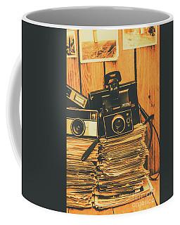 Vintage Photography Stack Coffee Mug