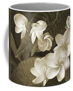 Coffee Mug featuring the photograph Vintage Plumeria by Ben and Raisa Gertsberg