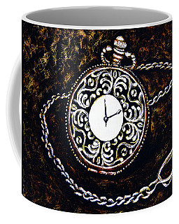 Vintage Pocket Watch Coffee Mug