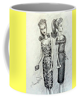 Vintage Ponytail Barbie Coffee Mug