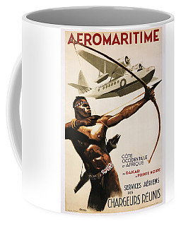 Vintage Poster - Aeromaritime Coffee Mug