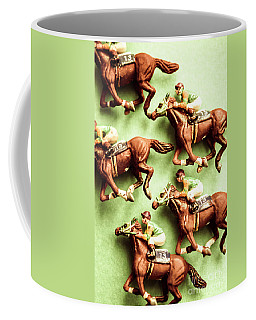 Vintage Racehorse Art Coffee Mug