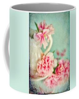 Vintage Romantic Peonies Coffee Mug