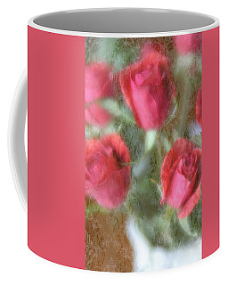 Coffee Mug featuring the photograph Vintage Rose Bouquet by Diane Alexander
