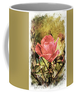 Vintage Rose Coffee Mug by Tina  LeCour