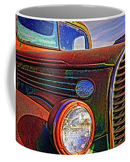 Vintage Rust N Colors Coffee Mug