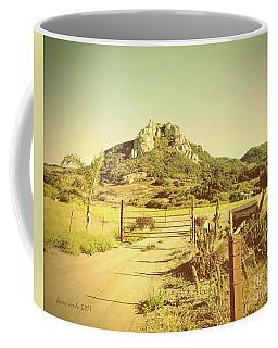 Vintage San Luis Obispo California Seven Sisters  Coffee Mug
