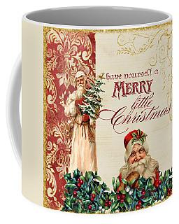 Vintage Santa Claus - Glittering Christmas Coffee Mug