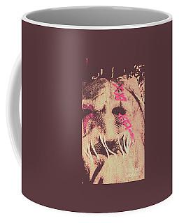 Vintage Scarecrow Mask Coffee Mug