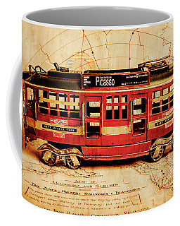 Vintage Scenes From Old Victoria Coffee Mug