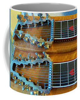 Coffee Mug featuring the photograph Vintage Sho-bud Pedal Steel by Rosanne Licciardi