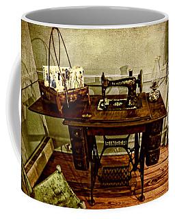 Vintage Singer Sewing Machine Coffee Mug