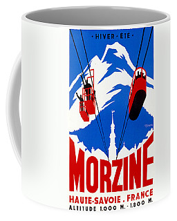 Vintage Ski Travel France Coffee Mug