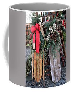Vintage Sleds Coffee Mug