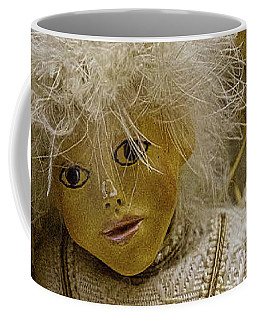 Coffee Mug featuring the photograph Vintage Slovenian Doll by Stuart Litoff