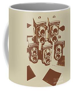 Vintage Snapshots And Old Cameras Coffee Mug