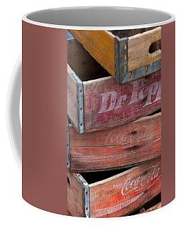 Vintage Soda Crates Coffee Mug