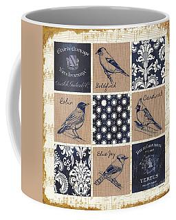 Vintage Songbirds Patch Coffee Mug