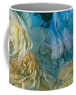 Vintage Still Life Bouquet Painting Coffee Mug