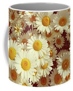 Vintage Summer Daisies Coffee Mug