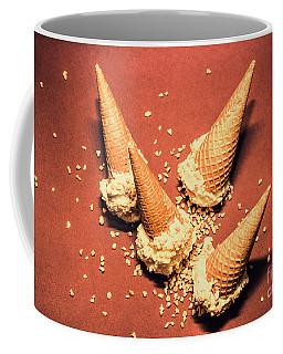 Vintage Summer Ice Cream Spill Coffee Mug