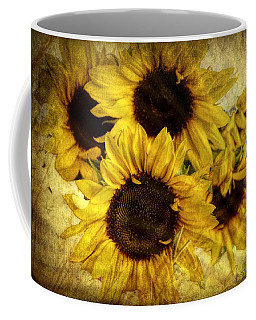 Vintage Sunflowers Coffee Mug