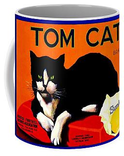 Vintage Sunkist Tom Cat Coffee Mug